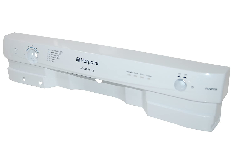 Hotpoint C00142910 Dishwasher Control Facia Panel