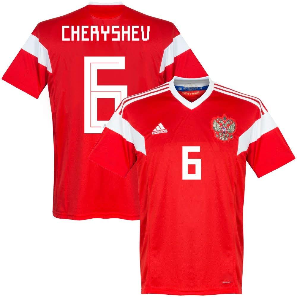 Russland Home Trikot 2018 2019 + Cheryshev 6