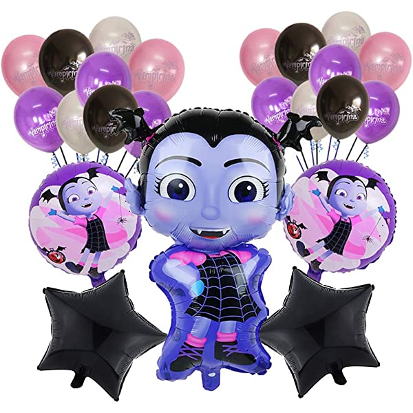 Amazon.com: Vampirina Balloon Bouquet 5 pc, 2nd Birthday ...