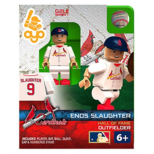 Enos Slaughter MLB St Louis Cardinals G2S1 Hall of Fame Mini Figure OYO