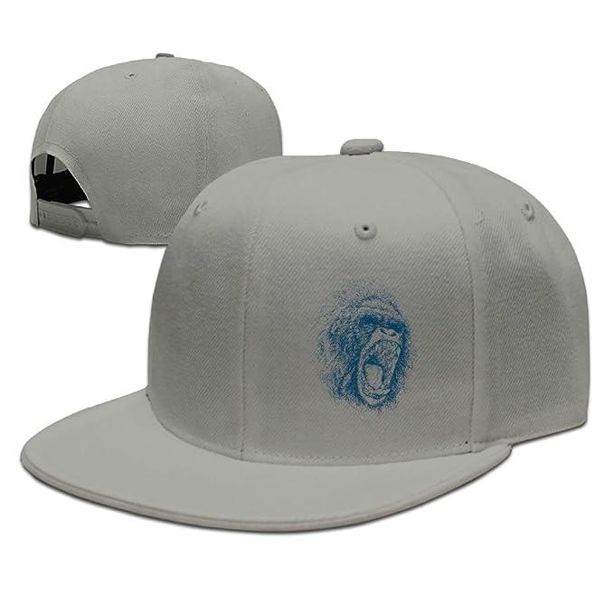 Lowland African Gorilla Caps Flat r n Snapback Hat Classic at Amazon ... 5c87c0f6c4ca