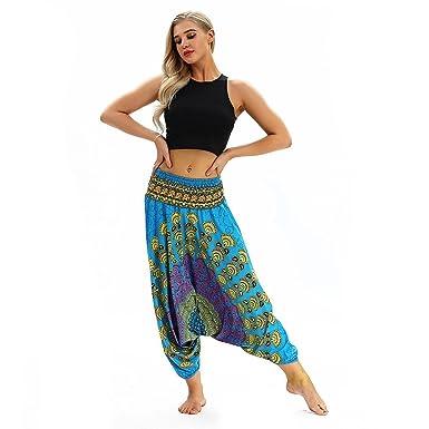 Yoga Pantalones Mujer Deportivas Trousers Boho Festival ...