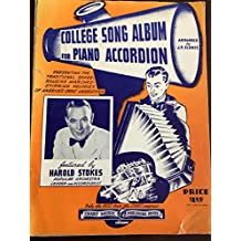 College Song Album For Piano Accordion [Songbook]