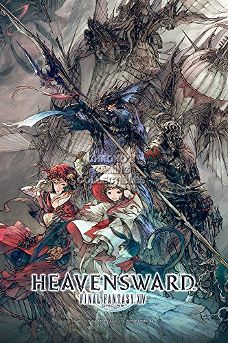 "CGC Huge Poster GLOSSY FINISH - Final Fantasy XIV Online Heavensward PS4 XBOX ONE - EXT745 (24"" x 36"" (61cm x 91.5cm))"