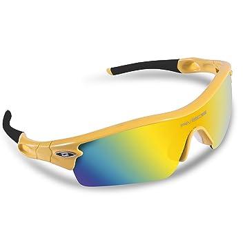 RIVBOS 805 Outdoor Sport Gafas de Sol Deportivas Polarizadas para Hombre Esquiar Golf Correr Ciclismo Súper