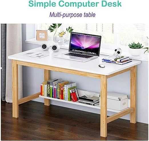Amazon.com: KCPer Home Computer Desk Study Desk Simple ...
