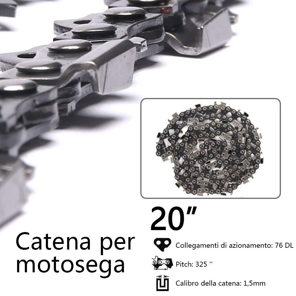 3//8 LP-52DL-1pc Iraza Catena per Motosega 52 Maglie Guida 35 cm Spessore 1.3mm