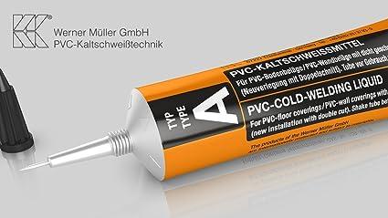 Soldadura Líquida en frío para PVC (132 g tubo) Tipo A Sello de ...