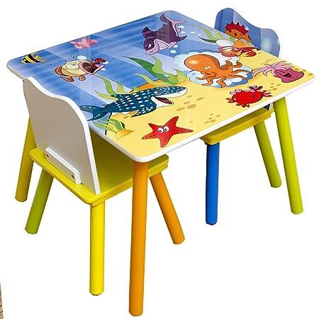 Actividad bebé comando Tabla KidsFurniture Mesa Juego De Sillas ...