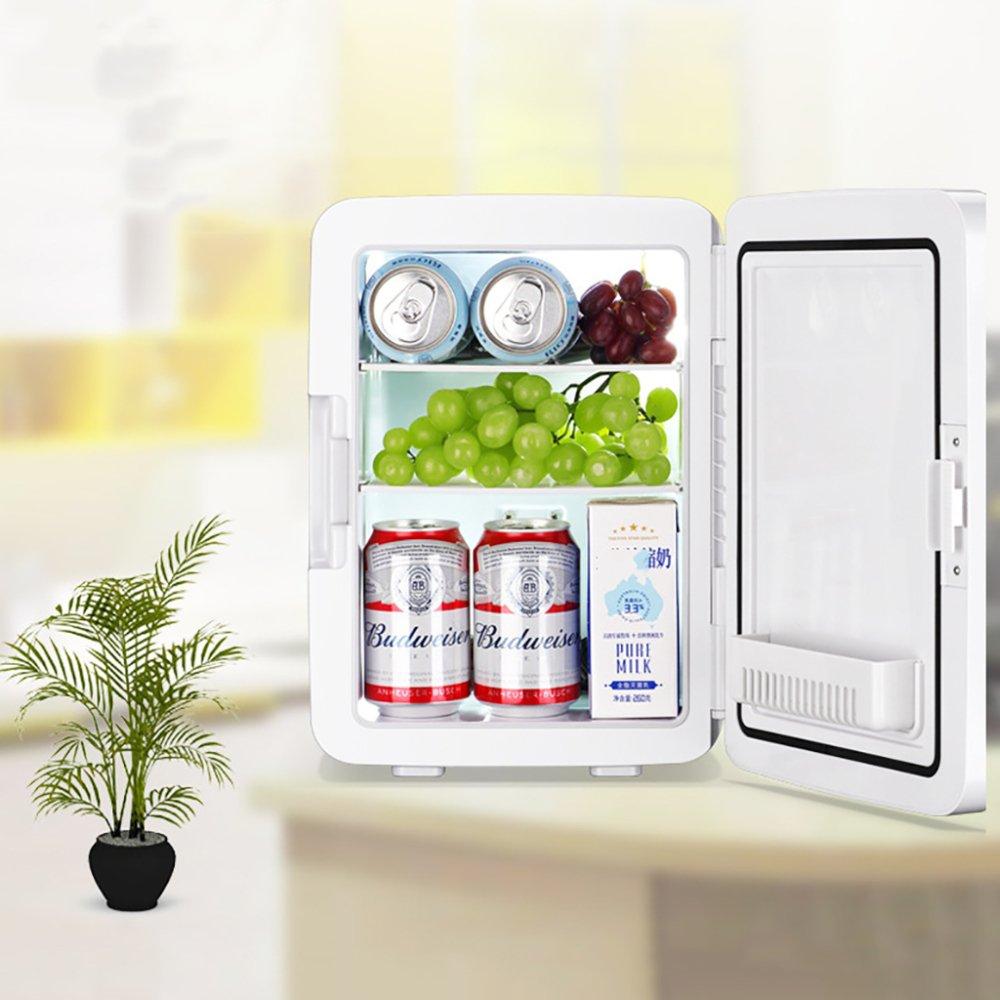 MENUDOWN Car Refrigerator 12L Portable Compressor Fridge Freezer,car And Home Are Available,12v//24v//230V Hot Cold Portable Electric Cool Box Outdoor Mini Fridge,10LBlue