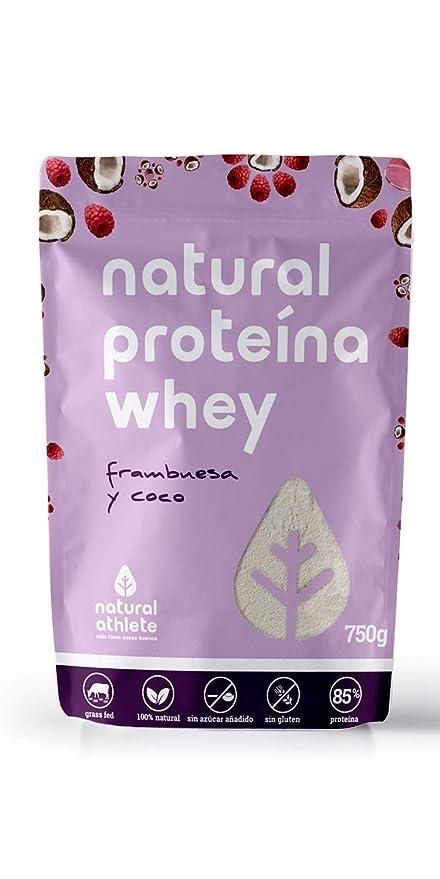 Proteína Whey - Natural Athlete - 85% Proteína aislada de leche de vacas de pasto