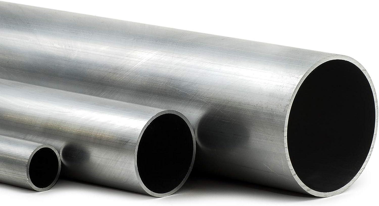 2,5cm auf Zuschnitt Aluminium Rundrohr AlMgSi05 /Ø 45x3mm L/änge 25mm