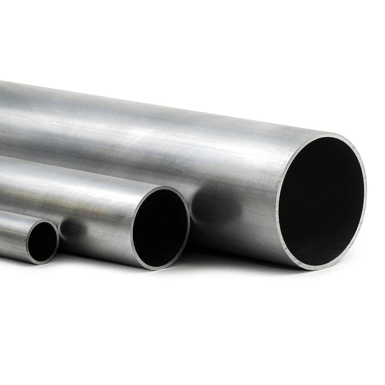 L/änge 100mm 10cm auf Zuschnitt Aluminium Rundrohr AlMgSi05 /Ø 20x1,5mm