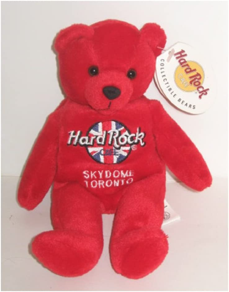 8.5 Hard Rock Cafe Rita Beara Skydome Toronto Collectible Bean Bag Bear