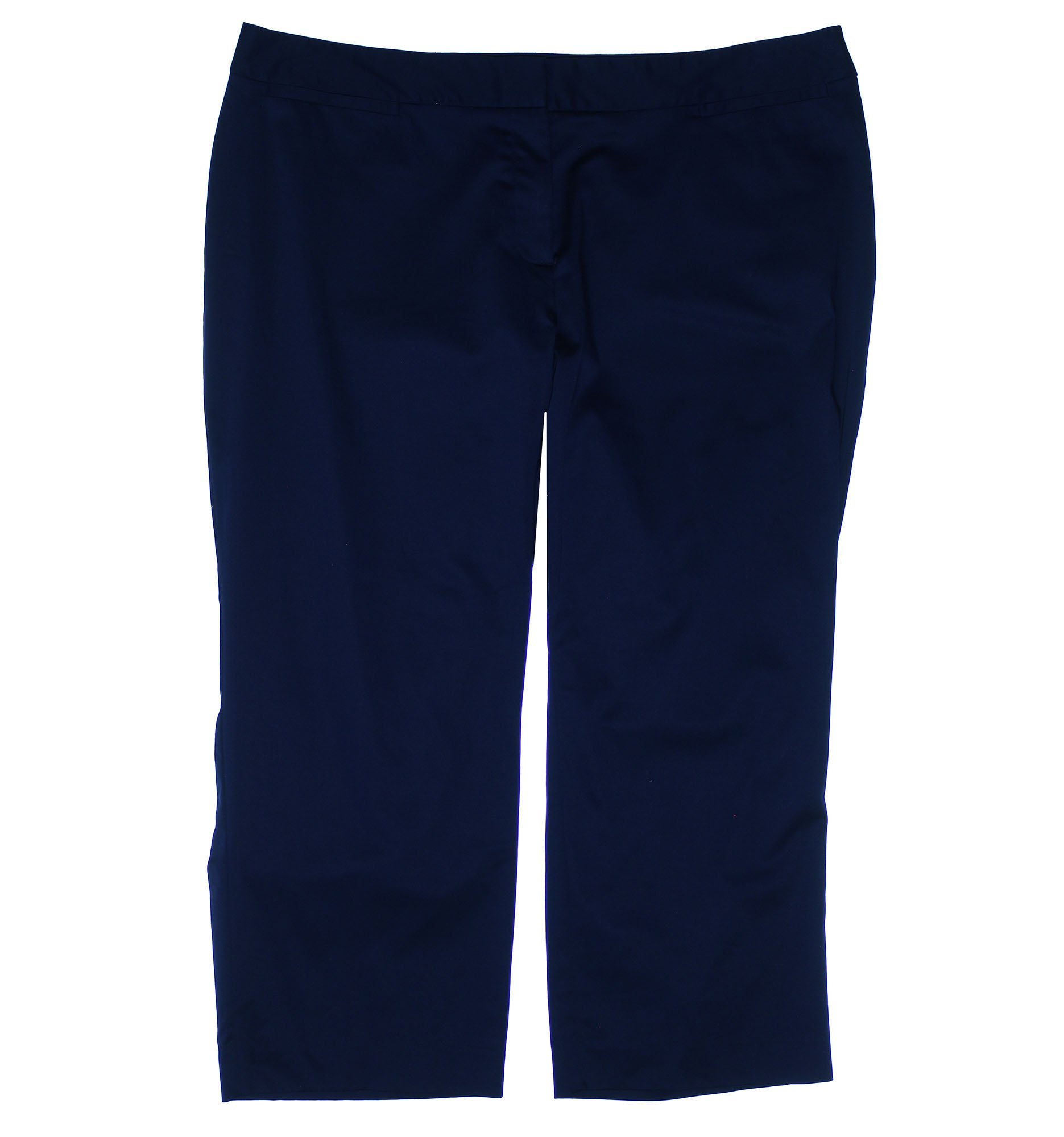 Charter Club Women's Plus Tummy Slimming Cropped Pants 18w Intrepid Blue