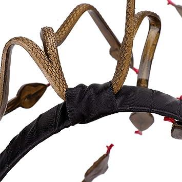 WJHFF Fiesta de Carnaval de Halloween Medusa Serpiente Diadema ...