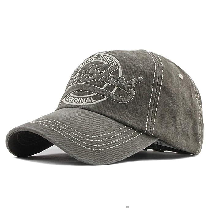 Gorra de béisbol, unisex, ajustable, de algodón, lavado, para ...