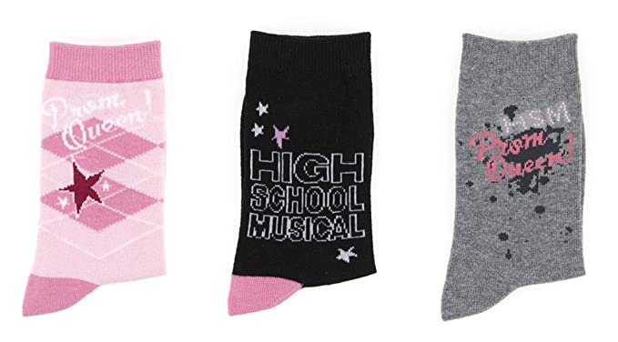 Pack de 3 pares de Calcetines High School Musical (9-12)