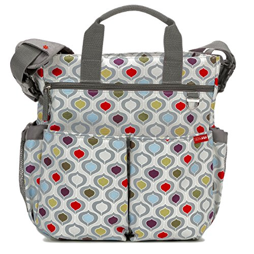 Skip Hop Baby Duo Signature Diaper Bag, Multipod (Duo Pocket Diapers)