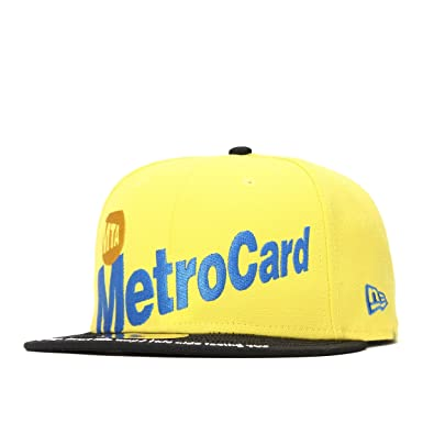 amazon ニューエラ new era mta コラボ キャップ 59fifty metro card