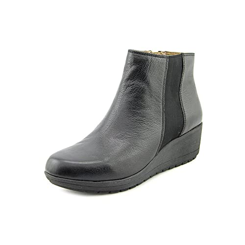 2e80de872da Easy Spirit Womens Cheltzie Leather Closed Toe Ankle