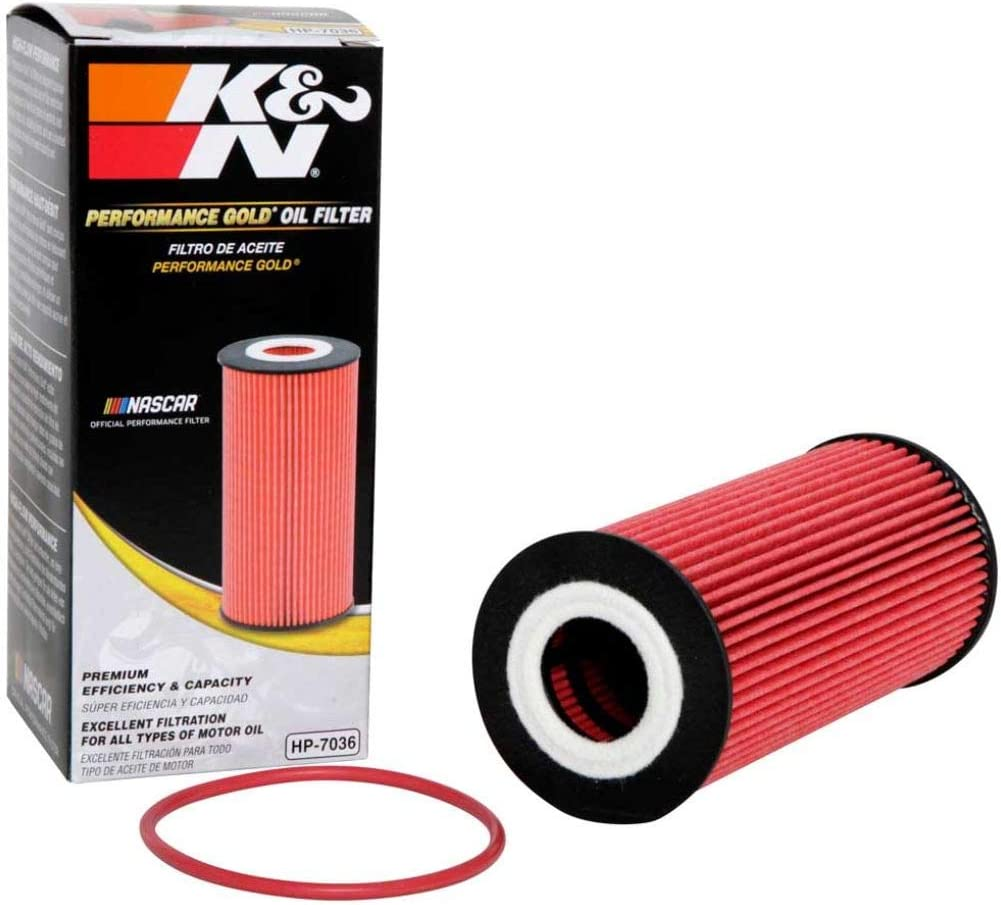 K&N Premium Oil Filter: Designed to Protect your Engine: Fits 2010-2016 PORSCHE Boxster; 2009-2016 PORSCHE Cayman, HP-7036