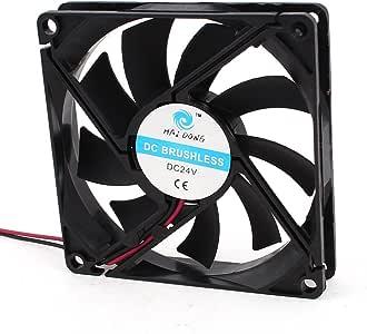 80mm x 15mm 8015 Caso PC sin escobillas del refrigerador del ventilador de la CPU DC 24V: Amazon.es: Electrónica
