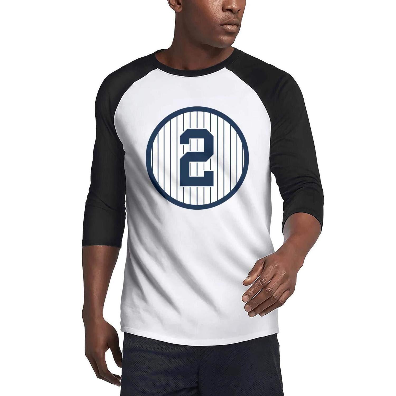 Men's Casual 3/4 Sleeve Raglan Tshirts Art New Personalized T-Shirts Tee