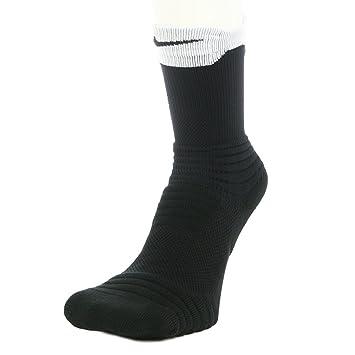 41e1600db35 Nike Elite Versatility Crew Basketball Sock Black White Black Large   Amazon.co.uk  Sports   Outdoors