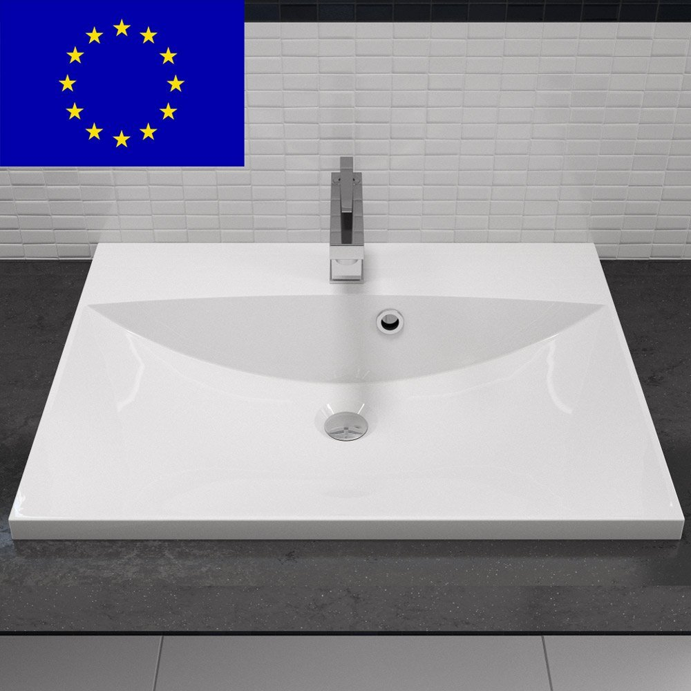 waschbecken eckig mit unterschrank az82 hitoiro. Black Bedroom Furniture Sets. Home Design Ideas