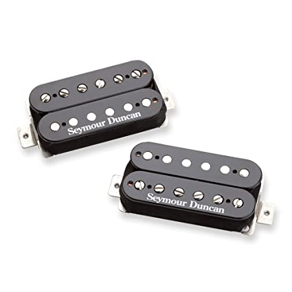 Pastilla de guitarra Seymour Duncan SH-6 Mayhem Set Humbuckers. Negro