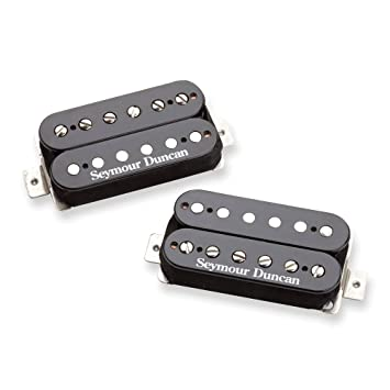 Pastilla de guitarra Seymour Duncan SH-6 Mayhem Set Humbuckers. Negro: Amazon.es: Instrumentos musicales