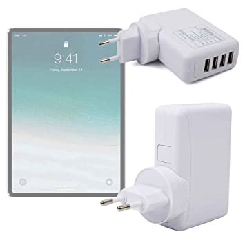 DURAGADGET Cargador De Viaje para Tablet Apple iPad Pro 11 ...