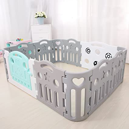 d30ec5215 Amazon.com  Child safety gates Toddler Fence Play Area Indoor Baby ...