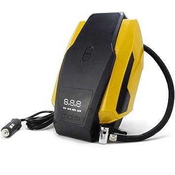 notens Auto 12 V DC Auto inflador de neumáticos (Compresor Bomba con manómetro neumáticos portátil para Auto, bicicleta, Motorrad: Amazon.es: Coche y moto