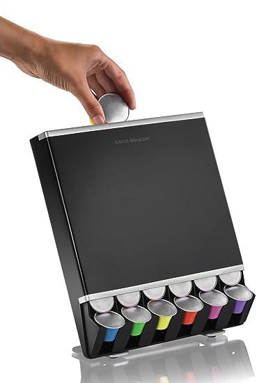 Mind Reader dispensador cápsulas de Nespresso caída libre para 42 Cápsulas de café: Holder: Amazon.es: Hogar