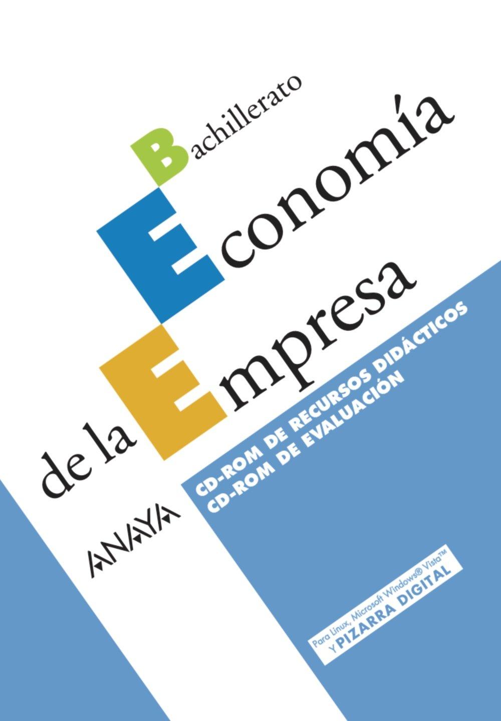 Economía de la Empresa. CD-ROM de Recursos didácticos. CD ...