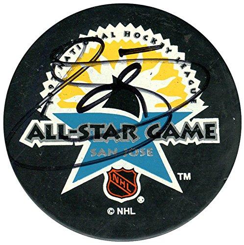 1997 Nhl All Star Game (Teemu Selanne Autographed 1997 San Jose NHL All Star Game Puck)