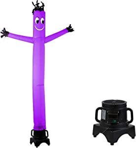MOUNTO 8FT Fly Puppet Dancer with 1/3hp Blower Complete Set (Purple)