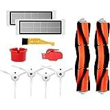 Theresa Hay Accessories for XIAOMI MI Robot Vacuum Side Brush 3pcs HEPA Filter 3pcs Main Brush