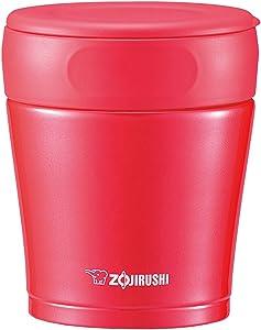 ZOJIRUSHI Stainless Steel Food Jar 260ml Cherry Red SW-GC26-RA