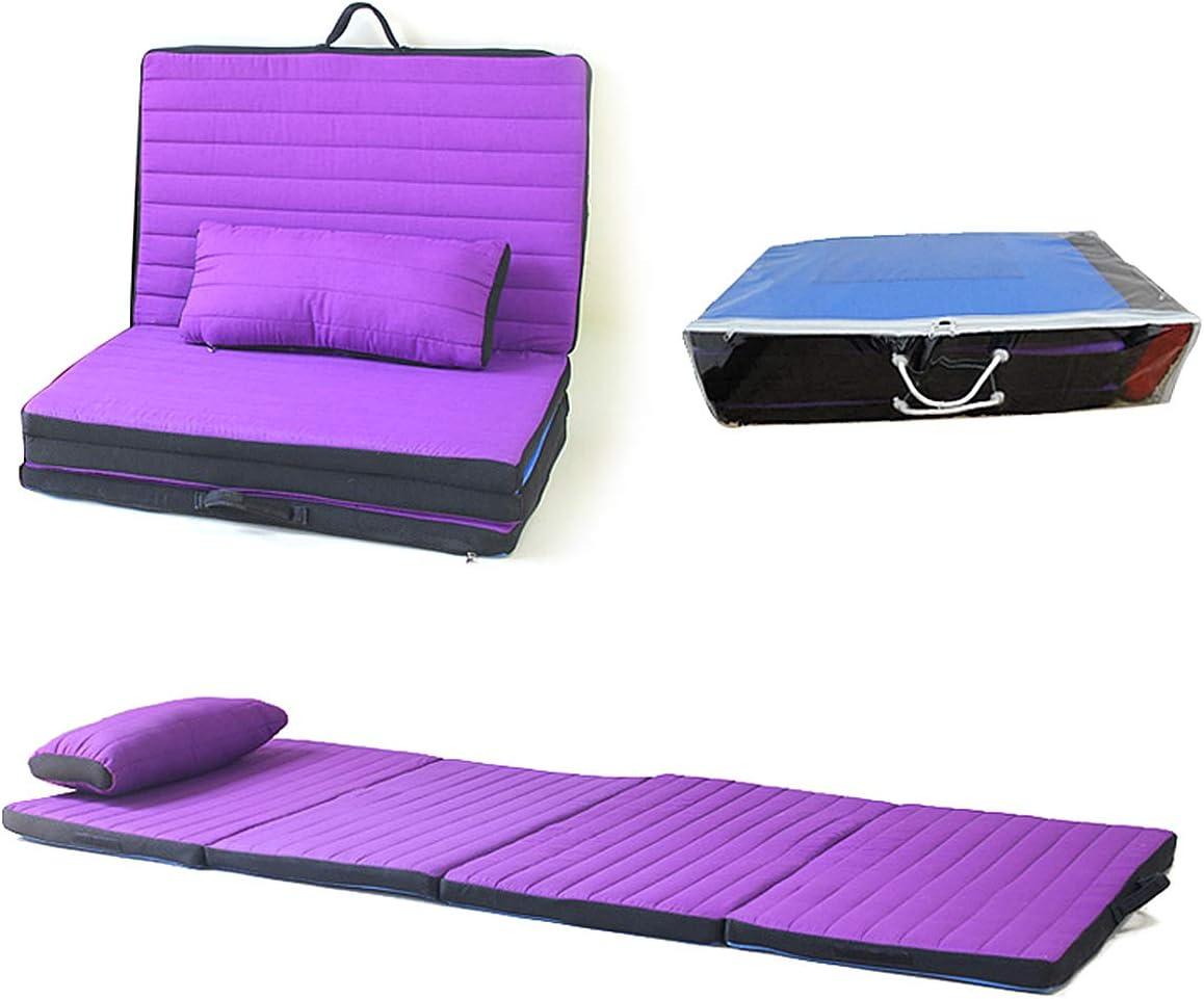 Boyigog Lot de 2 tapis de camping pliable en mousse isol/é thermiquement pour si/ège de camping