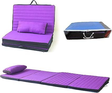 Tri Pli Matelas de sol Mousse Tapis pliant sommeil Pad pour lecture Yoga Camp Twin