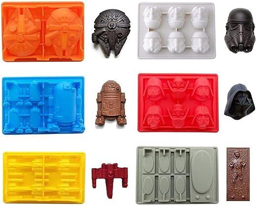 Bac /à Gla/çons Silicone Star Wars Darth Vader