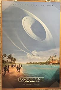 ROGUE ONE A STAR WARS STORY MOVIE POSTER 2 Sided ORIGINAL Version B INTL 27x40