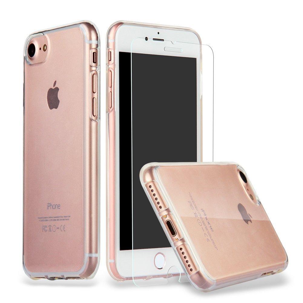 Iphone 7 Hülle Case + Panzerglas,iluxus®: Amazon.de: Elektronik