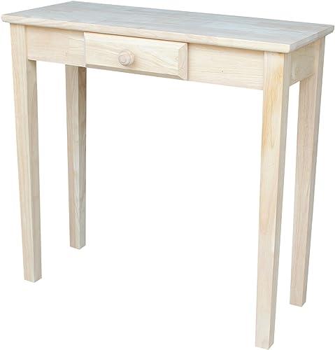 International Concepts Rectangular Hall Table