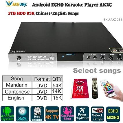 5TB HDD 84K Chinese(Mandarin,Cantonese) DVD+English DVD Songs