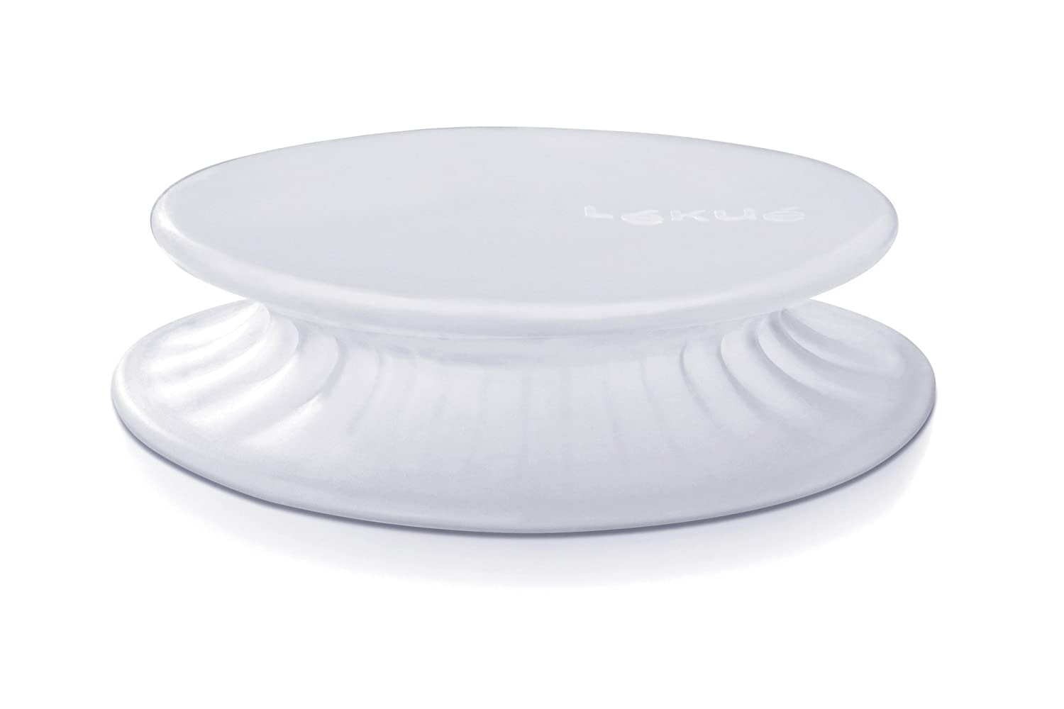 Lékué - Tapa extensible, 20 cm, color blanco