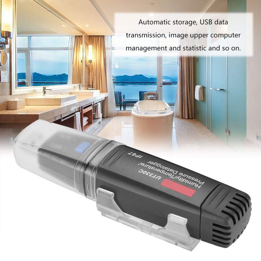 USB-Datenlogger UT330A//UT330C USB-Datenlogger f/ür Temperatur UT330C Luftfeuchtigkeit und Druck